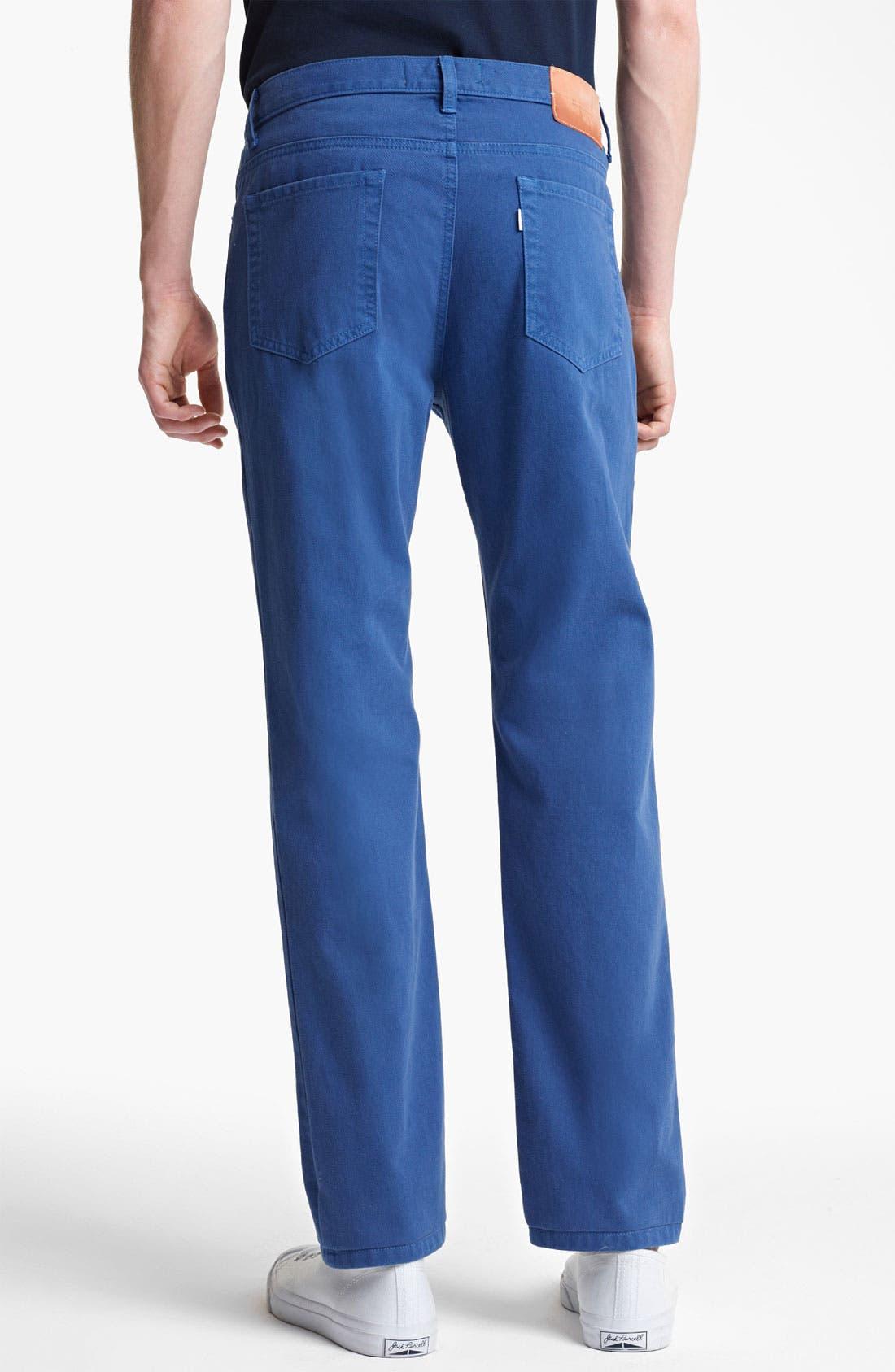 Alternate Image 2  - Shipley & Halmos 'Rhodes' Slim Straight Leg Pants
