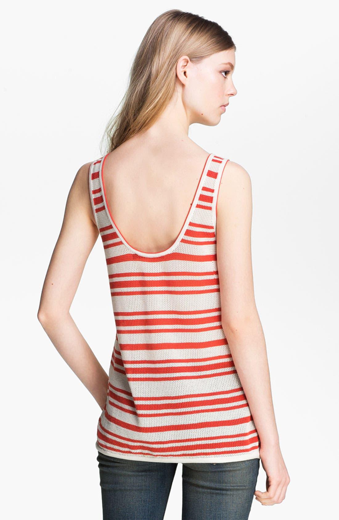 Alternate Image 3  - rag & bone/JEAN 'Kathie' Stripe Tank