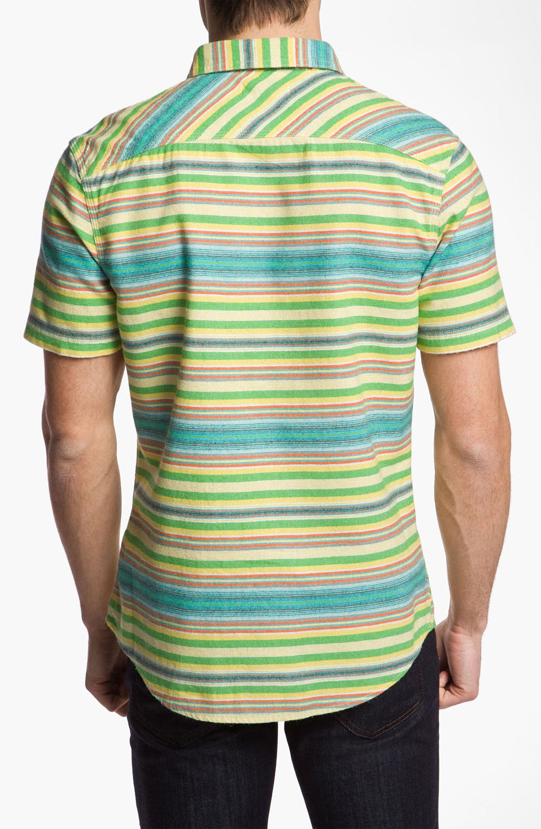 Alternate Image 2  - Public Opinion 'Blanket Stripe' Work Shirt