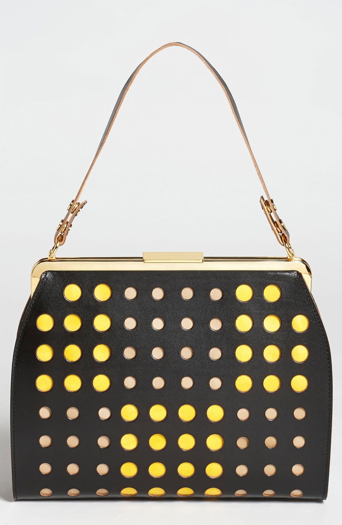 Alternate Image 1 Selected - Marni Polka Dot Frame Handbag