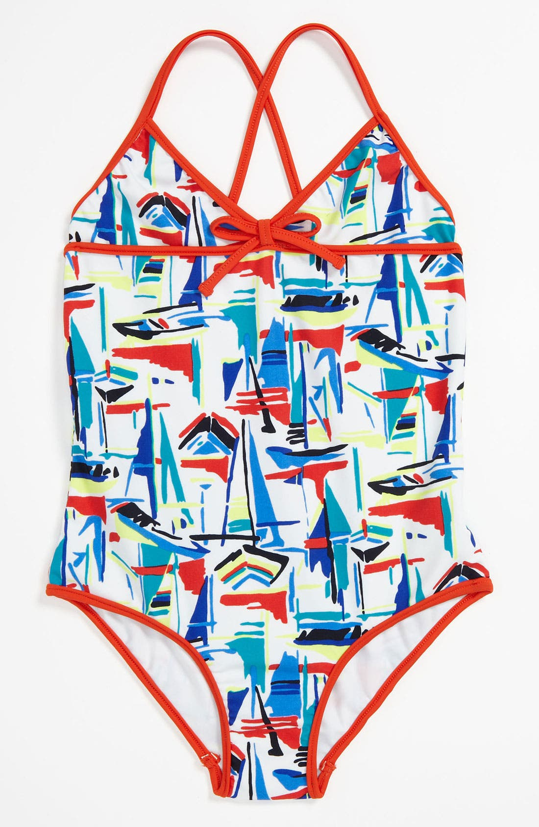 Main Image - Milly Minis One Piece Swimsuit (Little Girls)