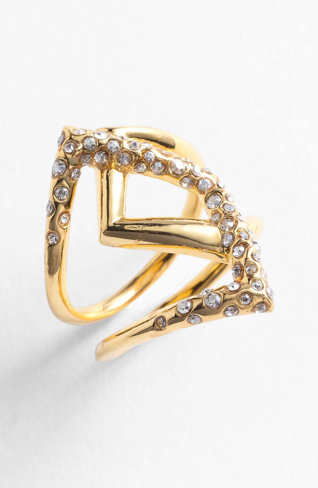 Alternate Image 1 Selected - Alexis Bittar 'Miss Havisham - New Wave' Overlap Ring