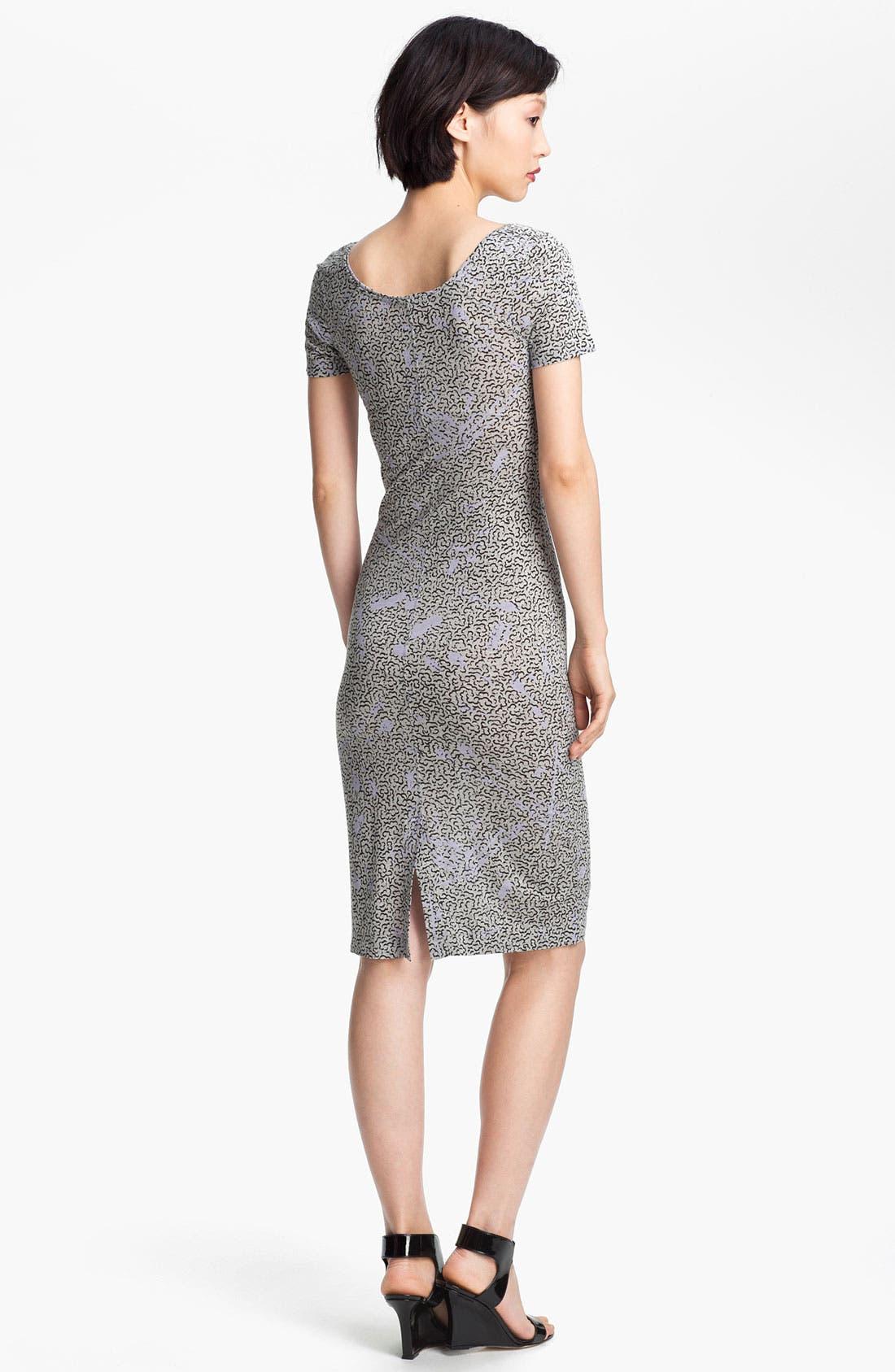 Alternate Image 2  - Twenty8Twelve 'Moore' Print Jersey Dress