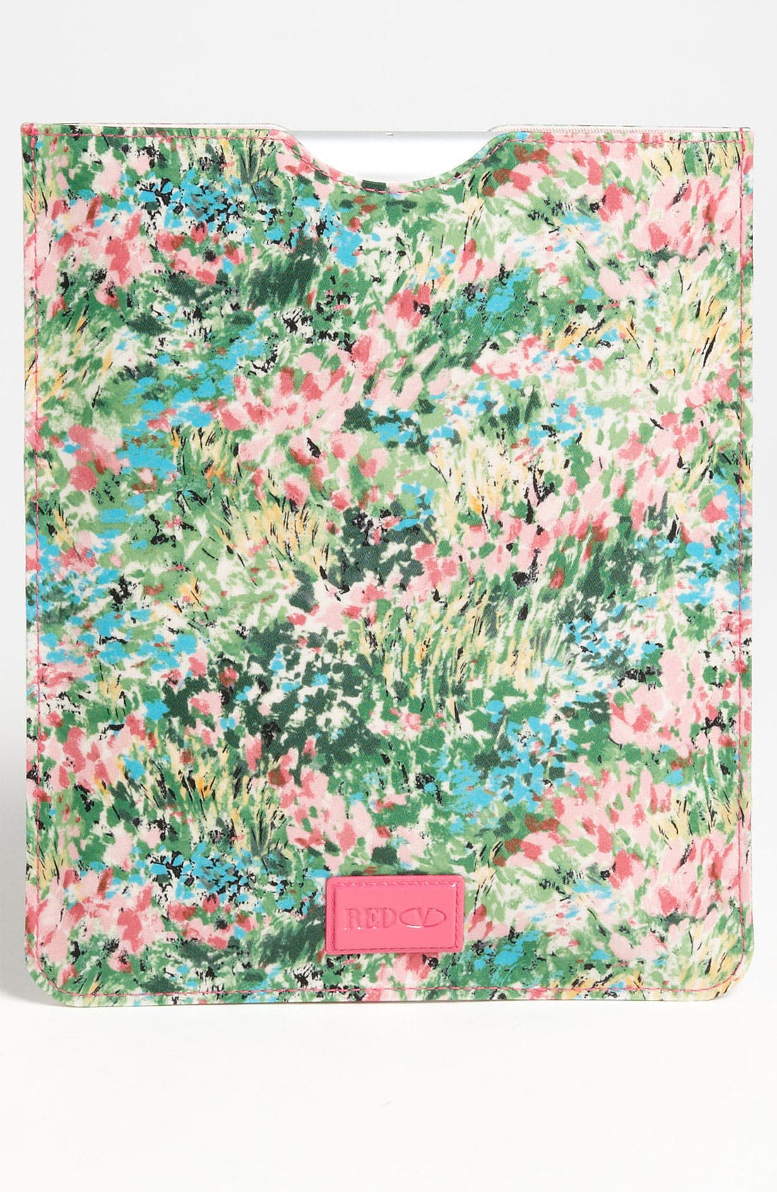 Alternate Image 4  - RED Valentino 'Bow - Meadow' Print iPad Case