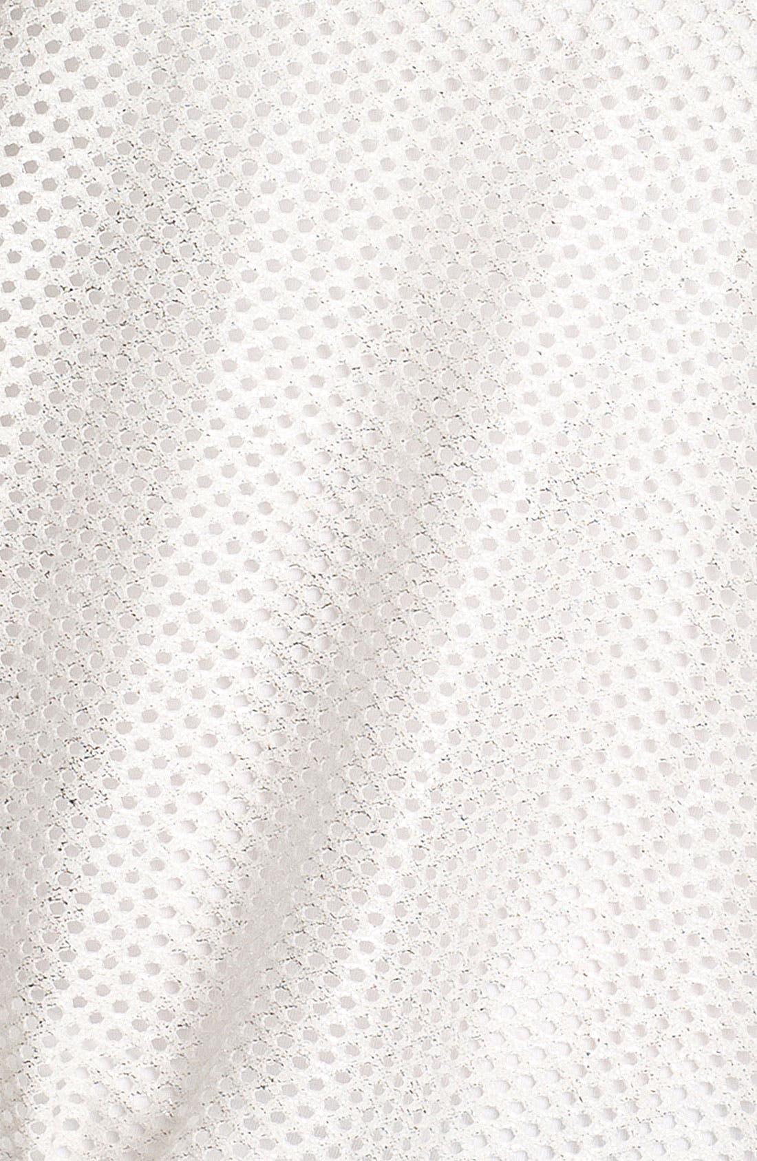 Alternate Image 3  - Pleione Perforated Shirttail Hem Top
