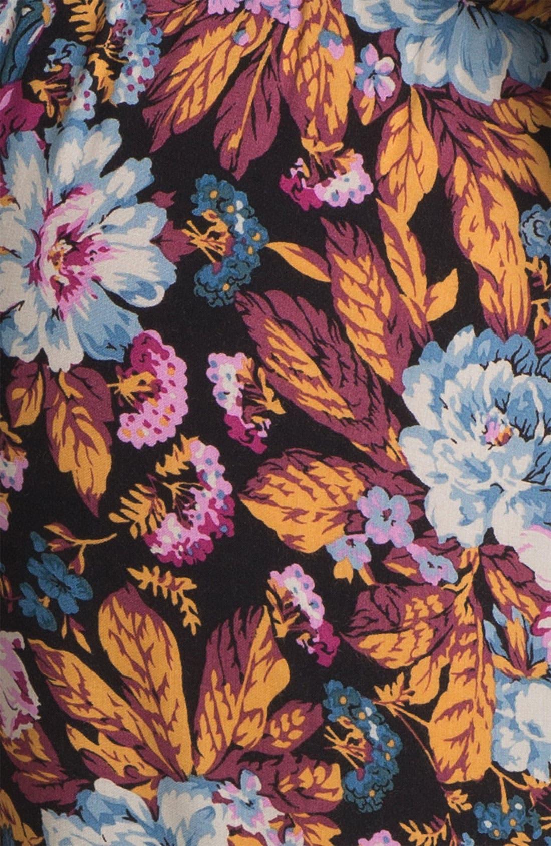 Alternate Image 3  - Lily White Print Tapered Pants (Juniors)
