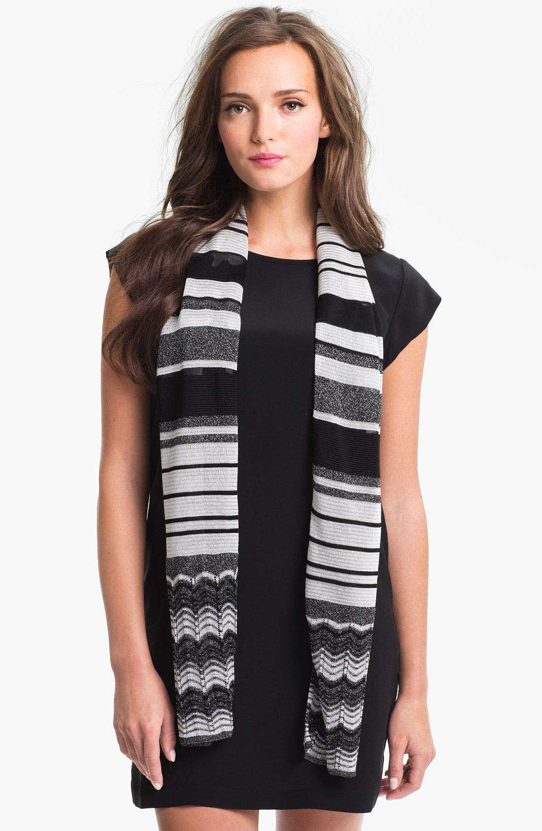Alternate Image 1 Selected - Missoni Stripe & Zigzag Scarf