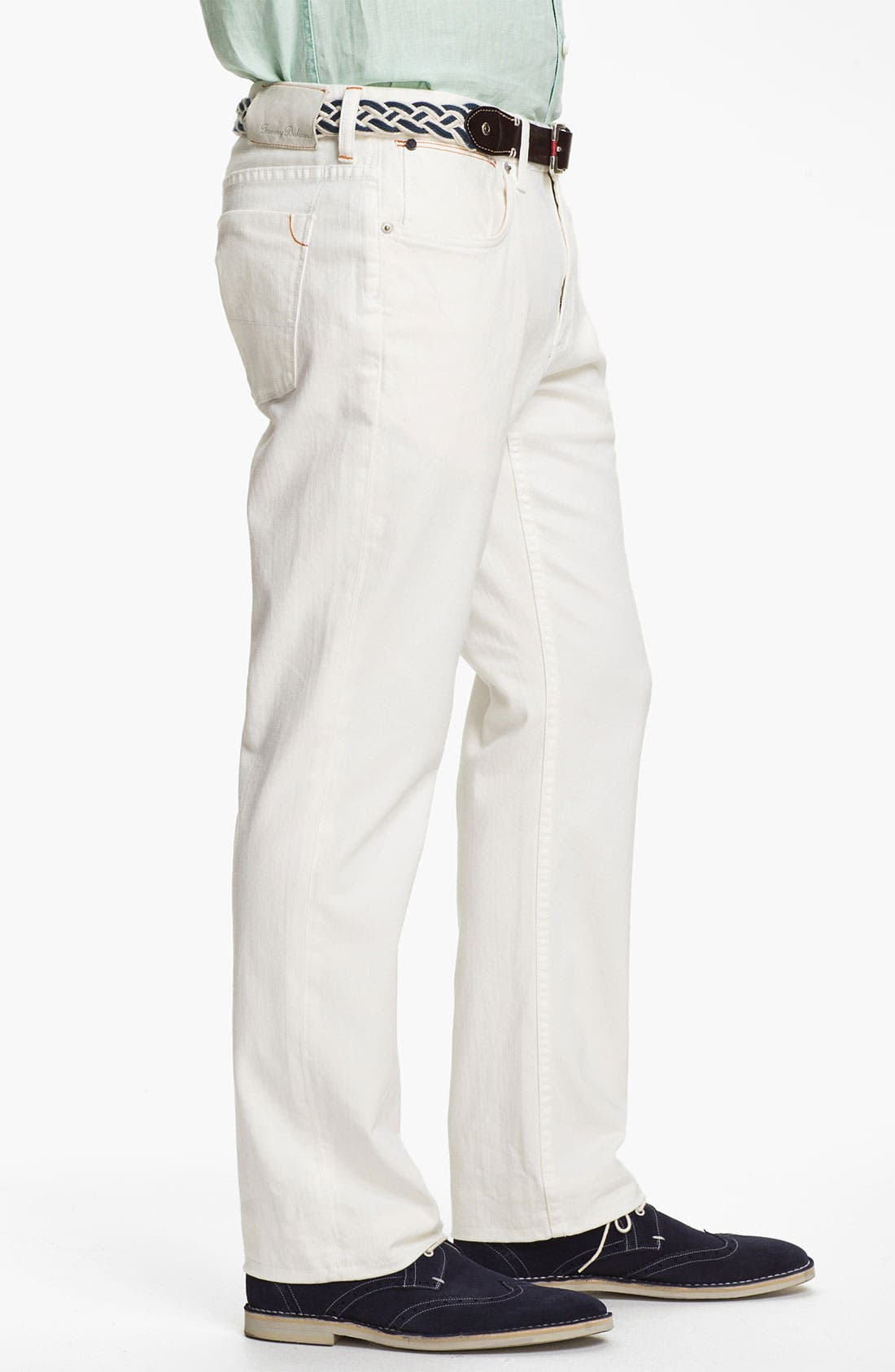 Alternate Image 3  - Tommy Bahama Denim Authentic Fit Jeans (White)