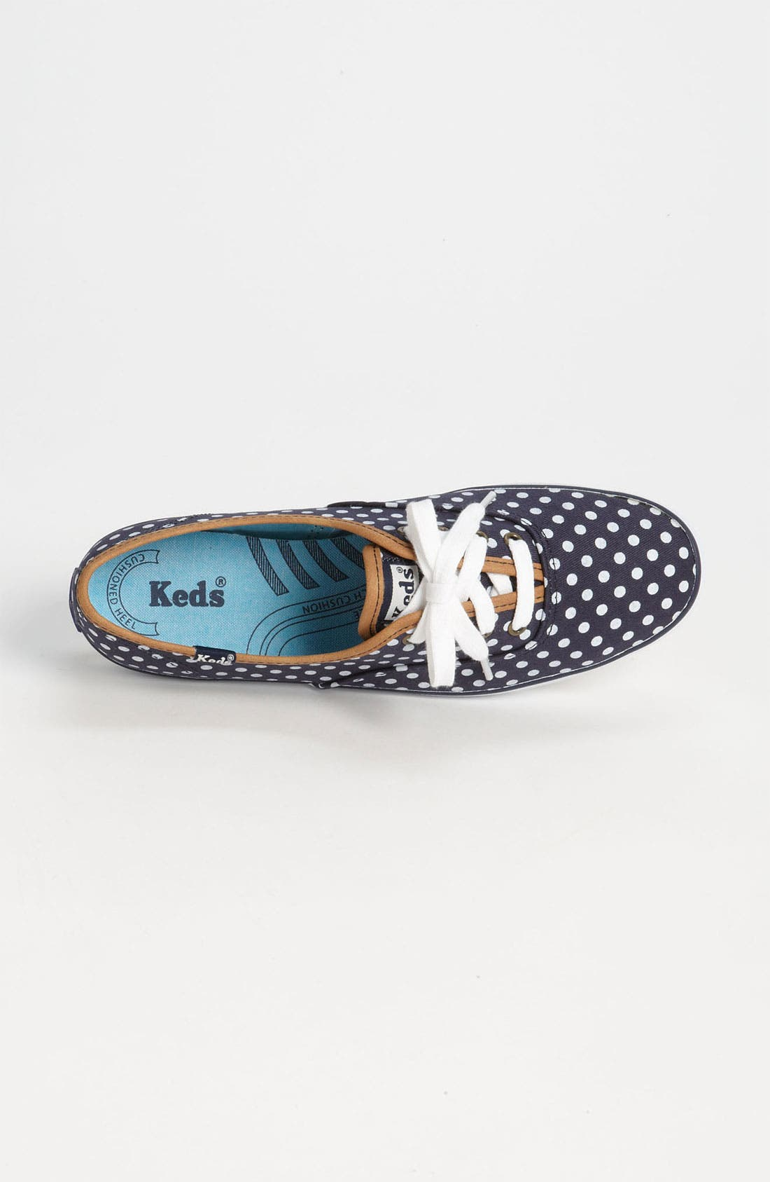 'Champion - Dot' Sneaker,                             Alternate thumbnail 3, color,                             Navy/ White