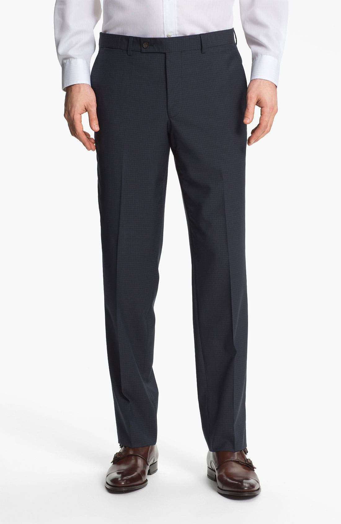 Alternate Image 4  - Ted Baker London Trim Fit Three Piece Suit