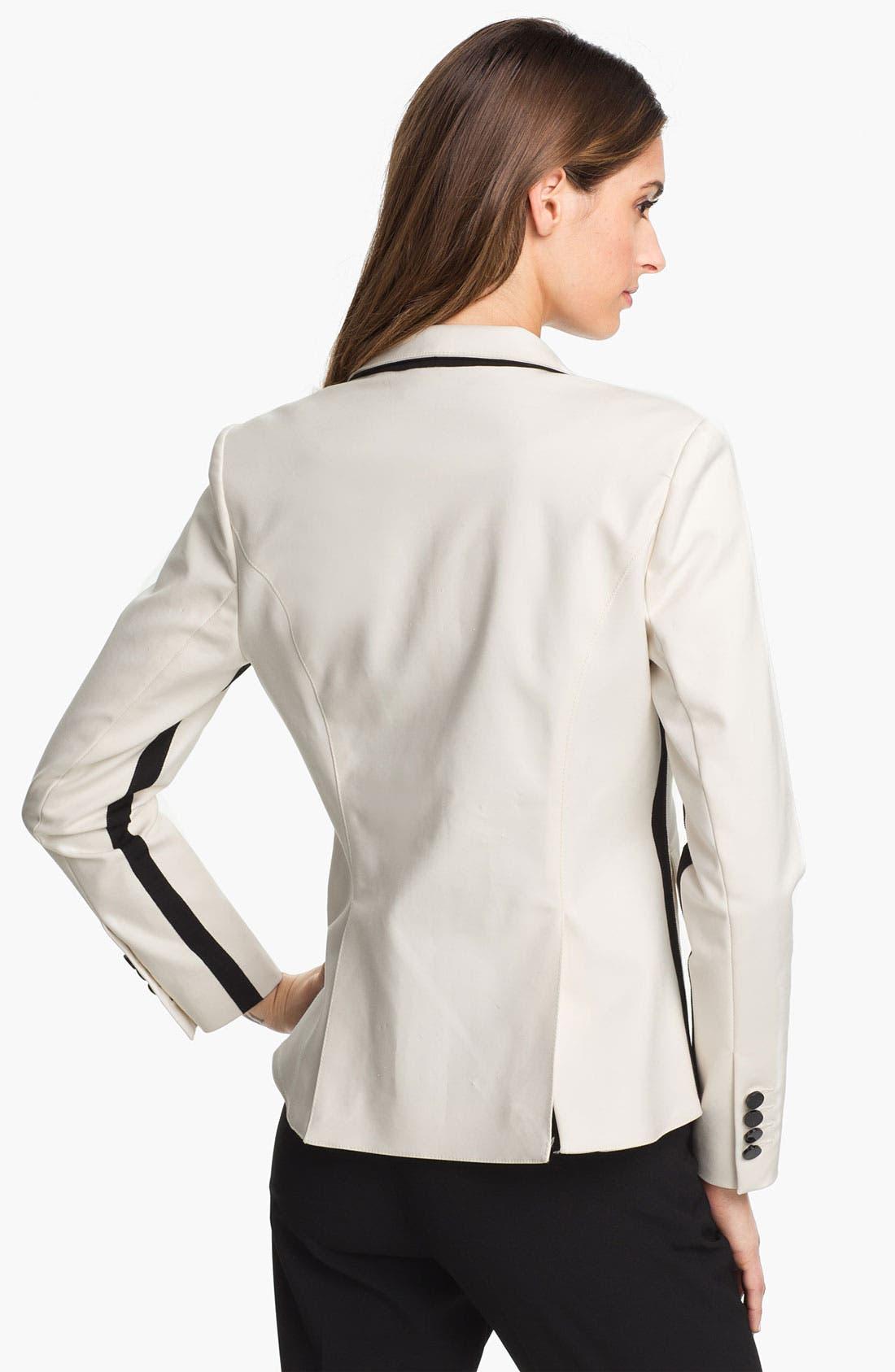 Alternate Image 2  - Adrianna Papell One Button Blazer
