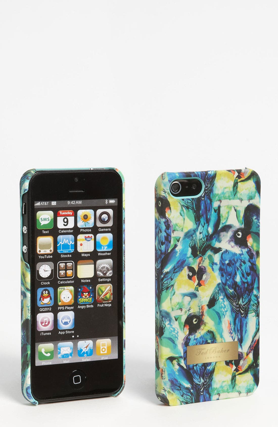 Main Image - Ted Baker London 'Tropical Parrot' iPhone 5 Case