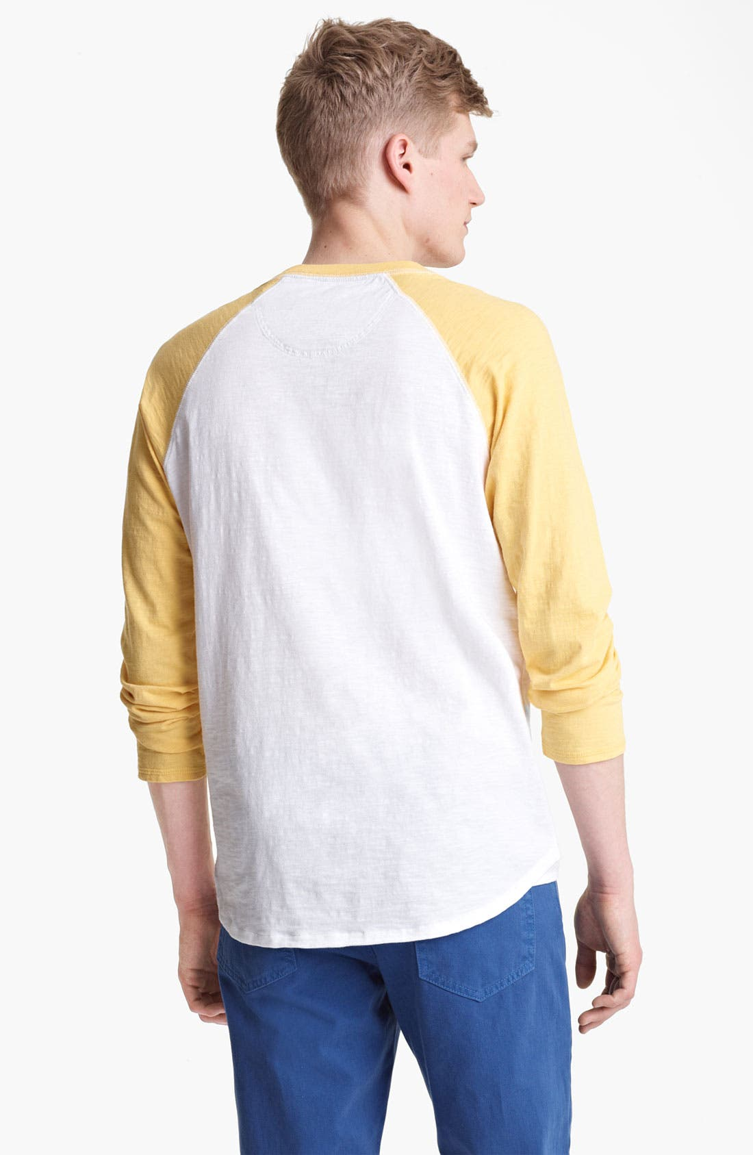 Alternate Image 2  - Shipley & Halmos 'Fjord' Baseball T-Shirt