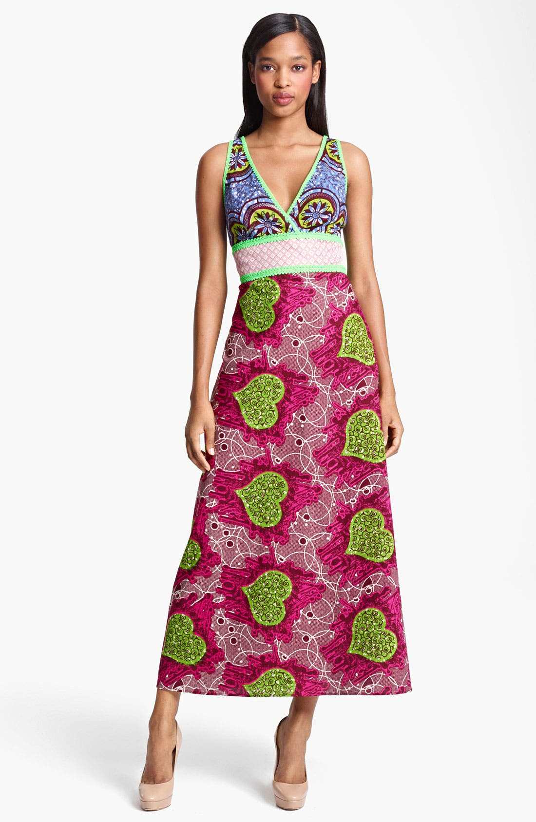 Alternate Image 1 Selected - Moschino Cheap & Chic Floral Print Dress