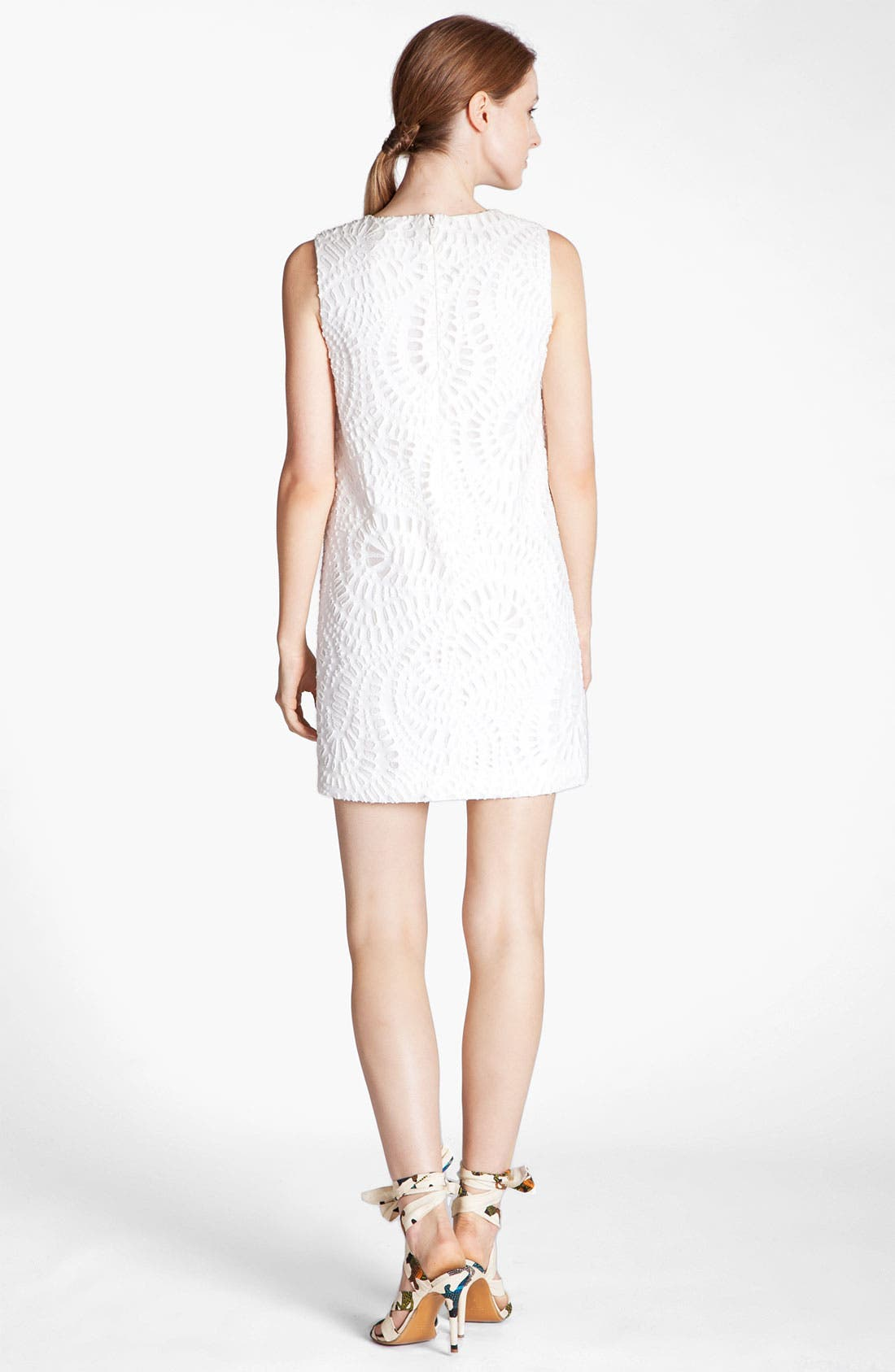Alternate Image 2  - MSGM Laser Cut Shift Dress