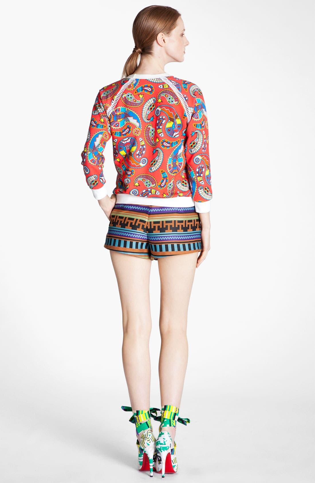 Alternate Image 4  - MSGM 'Paisley Memphis Print' Sweatshirt