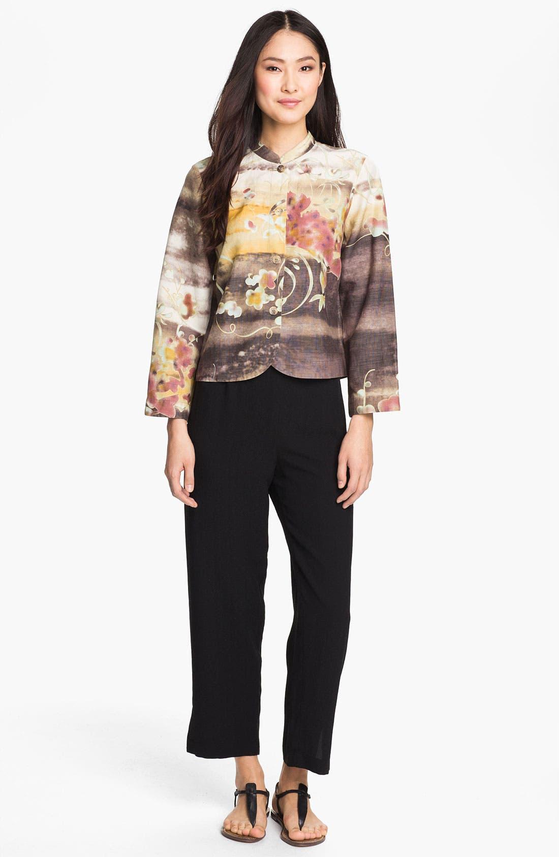 Alternate Image 4  - Citron Silk & Linen Jacket