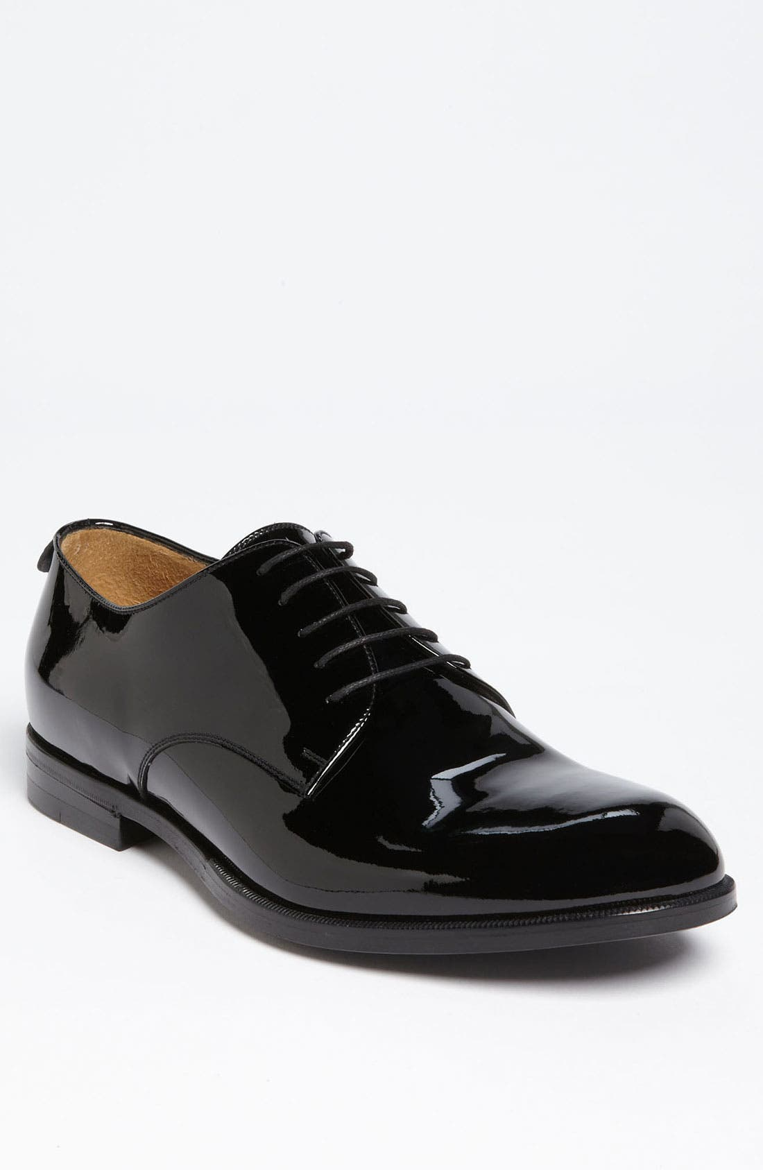 Alternate Image 1 Selected - Gucci 'Clerck' Patent Derby