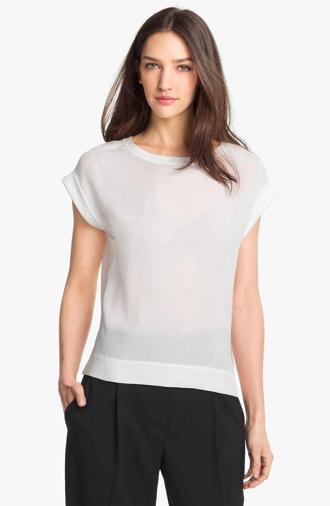 Main Image - Theory 'Sorcha' Silk Top
