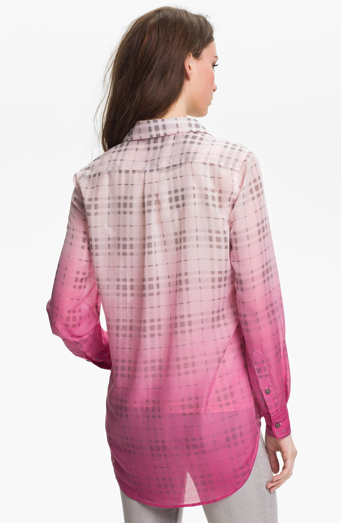 Alternate Image 2  - Two by Vince Camuto Boyfriend Shirt