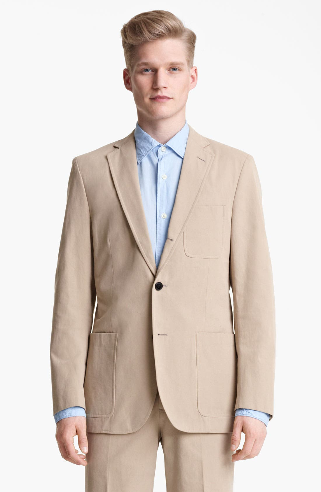 Main Image - Billy Reid 'Campbell' Cotton Suit