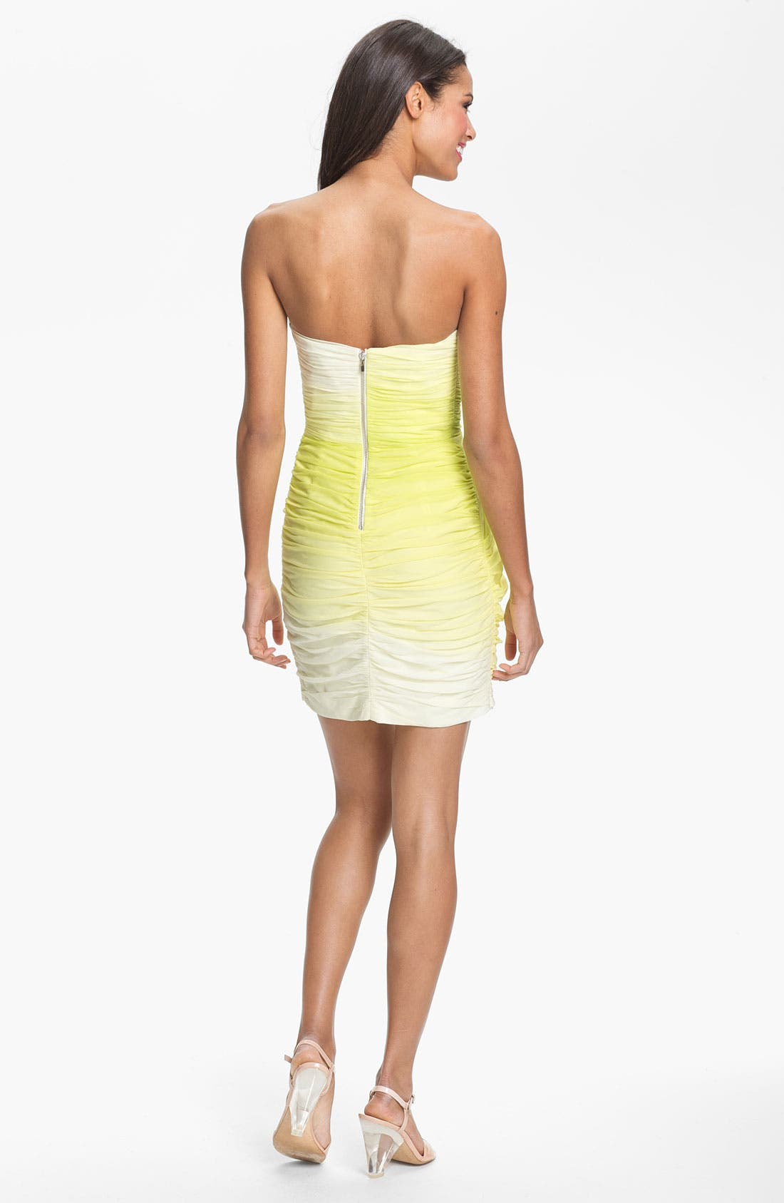 Alternate Image 2  - ERIN erin fetherston Draped Silk Chiffon Sheath Dress