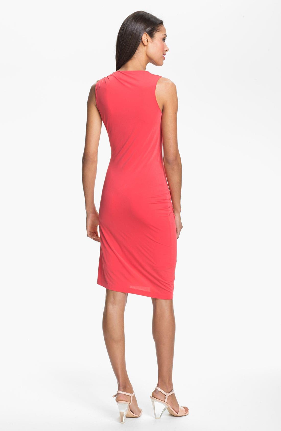Alternate Image 2  - Halston Heritage Draped Jersey Dress