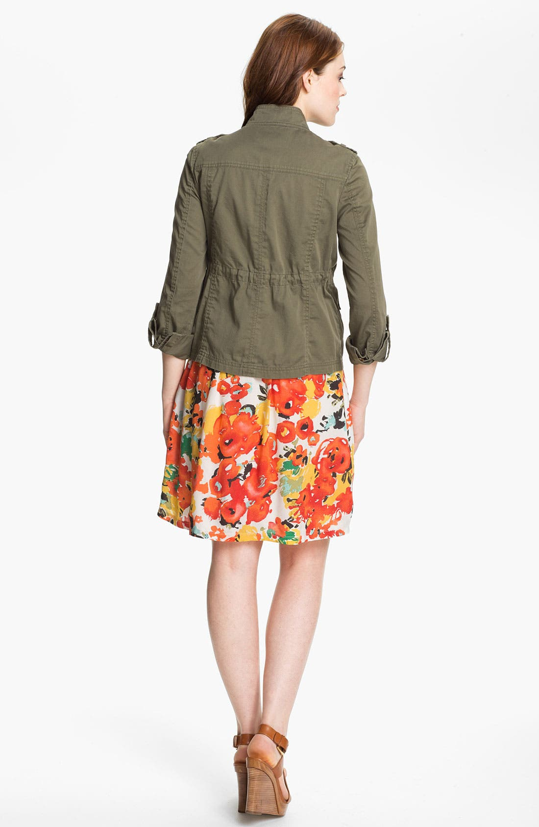 Alternate Image 5  - Caslon® Mixed Media Dress