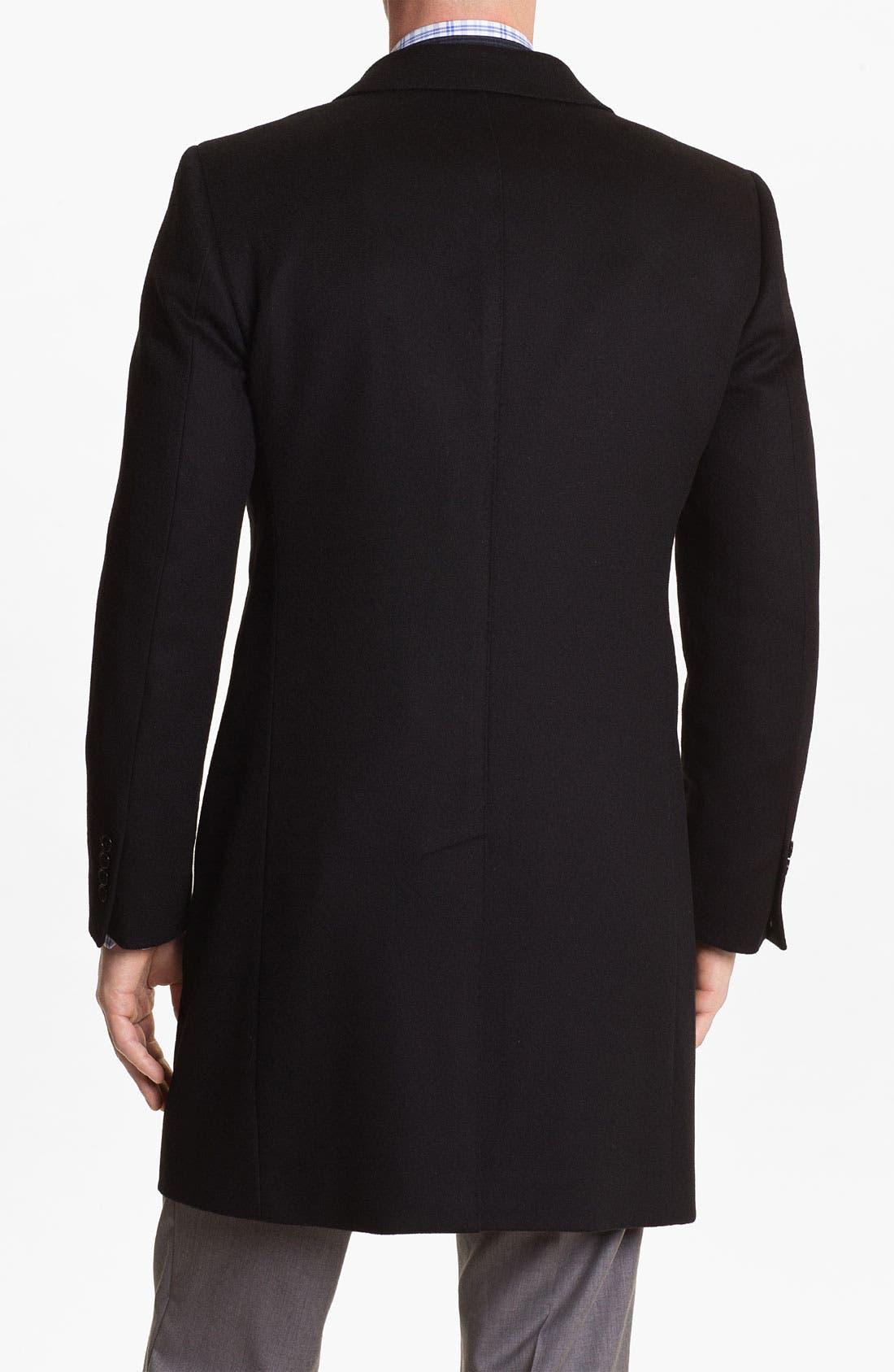 Alternate Image 2  - Cardinal of Canada Wool Blend Topcoat