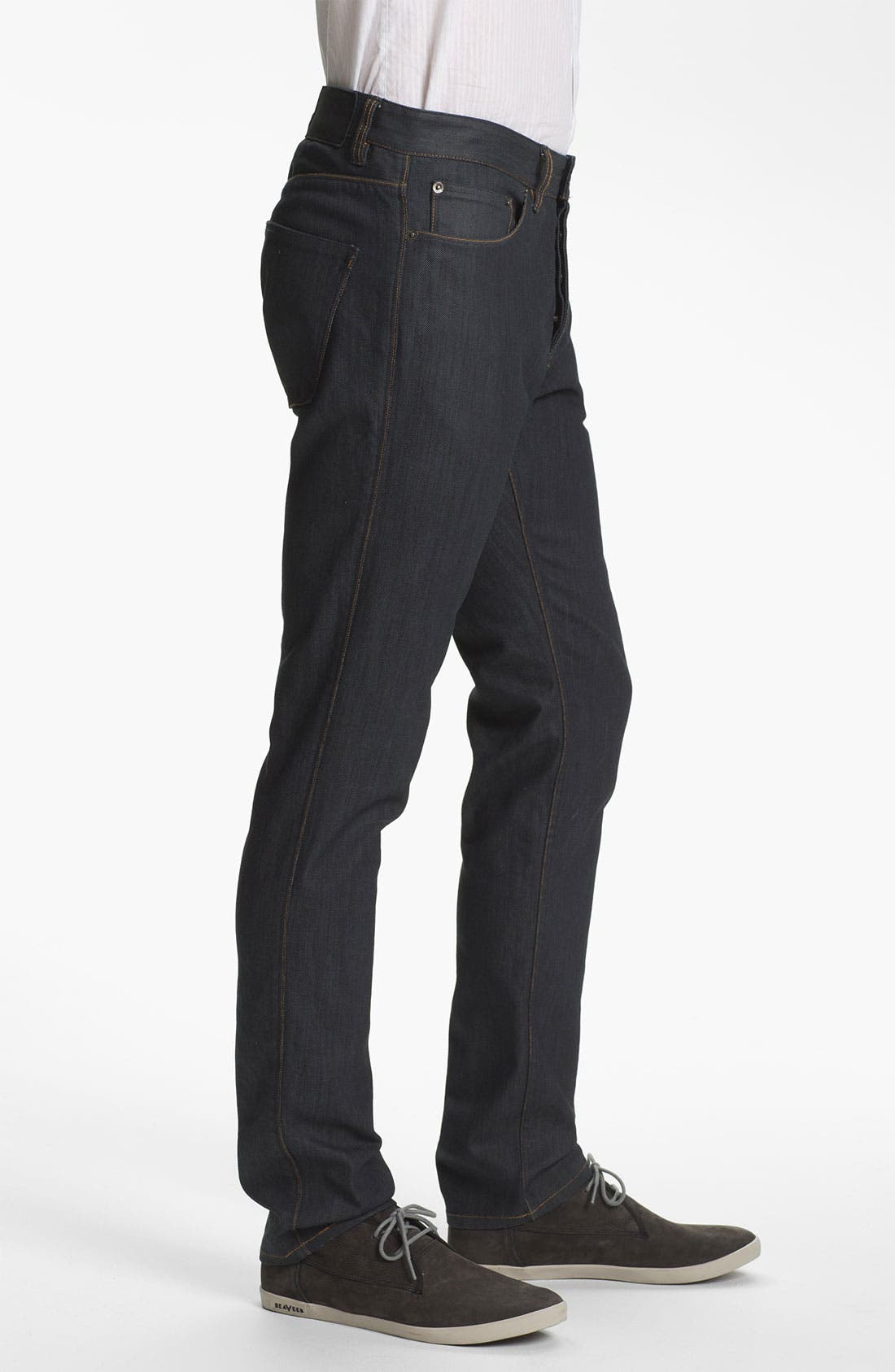 Alternate Image 3  - Theory 'Raffi P. Gunstock' Straight Leg Jeans (Indigo)