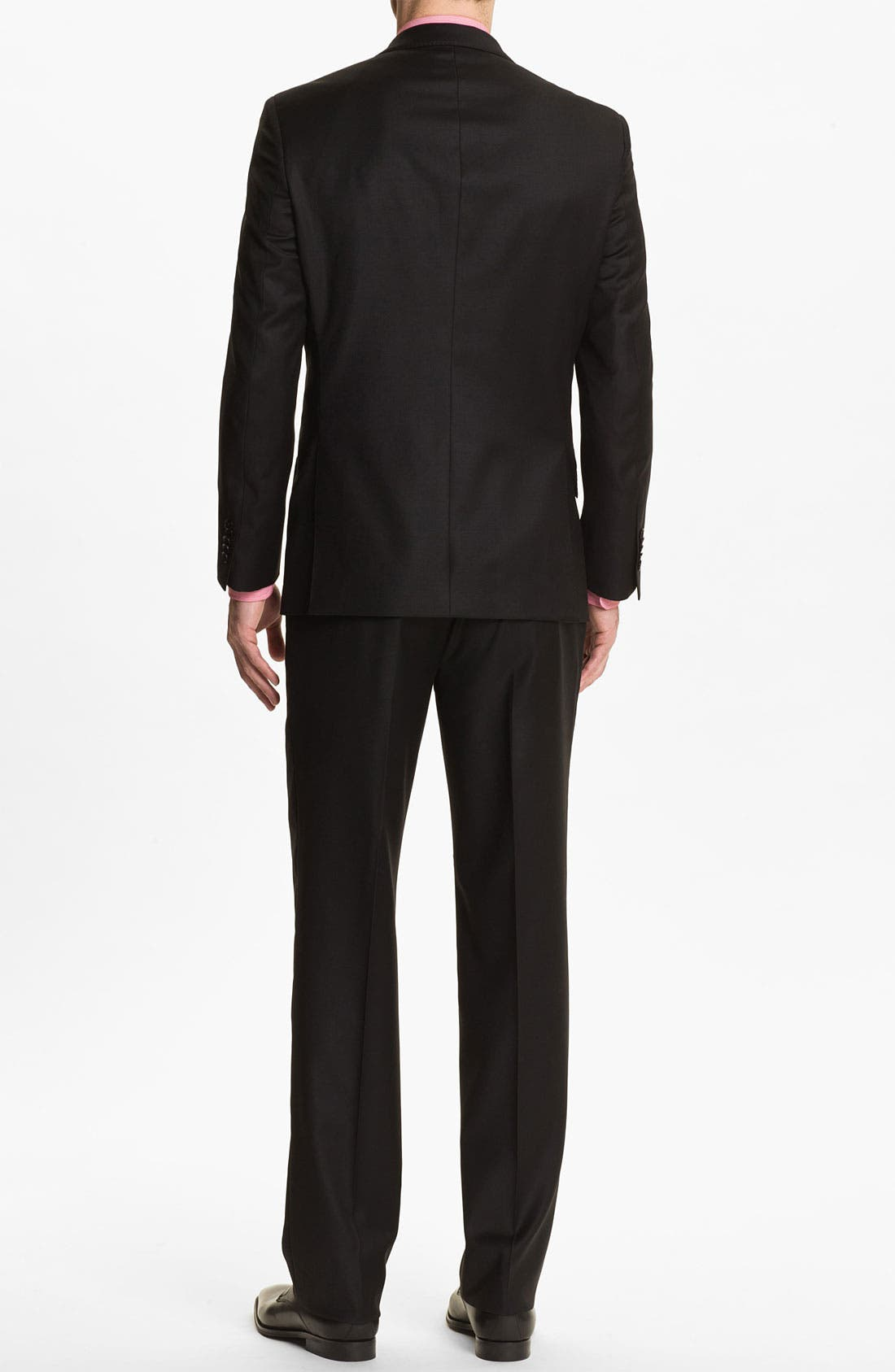 Alternate Image 5  - English Laundry Trim Fit Wool Suit (Online Only)