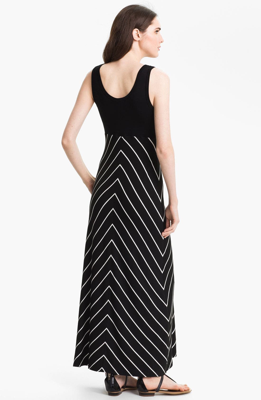 Alternate Image 2  - Karen Kane Stripe Maxi Tank Dress