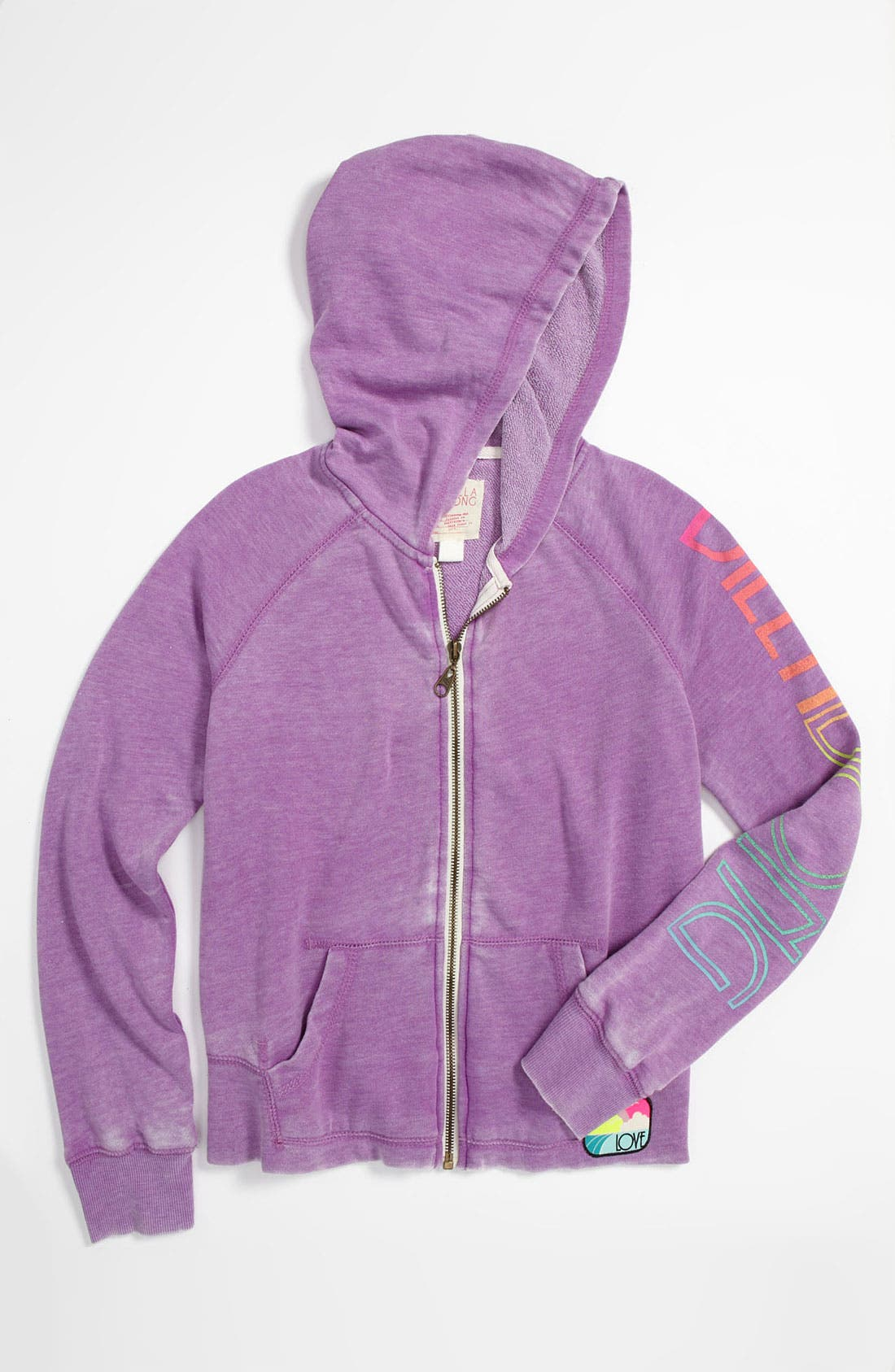Alternate Image 1 Selected - Billabong 'Stole My Heart' Hoodie (Big Girls)