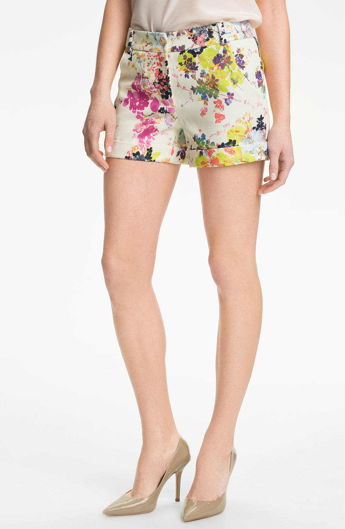 Alternate Image 1 Selected - Ted Baker London 'Summer Bloom' Shorts