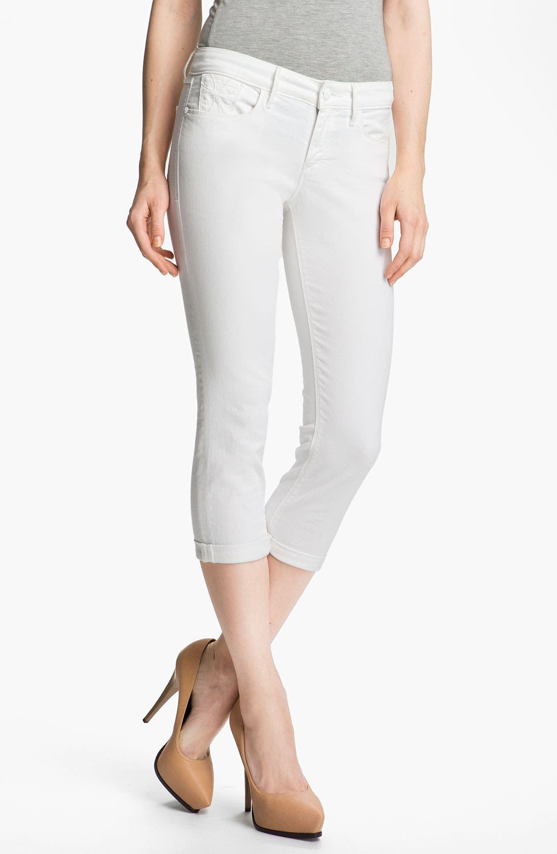 Main Image - Habitual 'Angelina' Cigarette Leg Crop Jeans