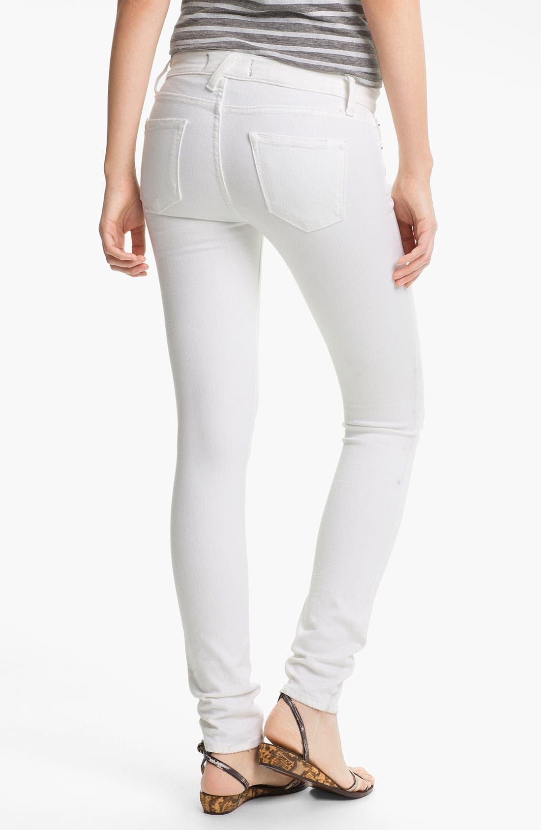 Alternate Image 2  - TEXTILE Elizabeth and James 'Debbie' Skinny Stretch Jeans