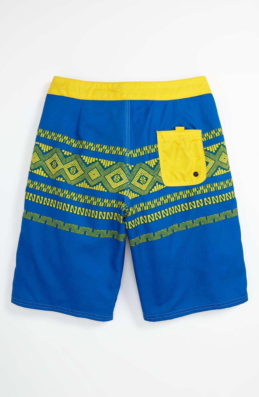 Alternate Image 2  - Element 'Inka' Board Shorts (Big Boys)