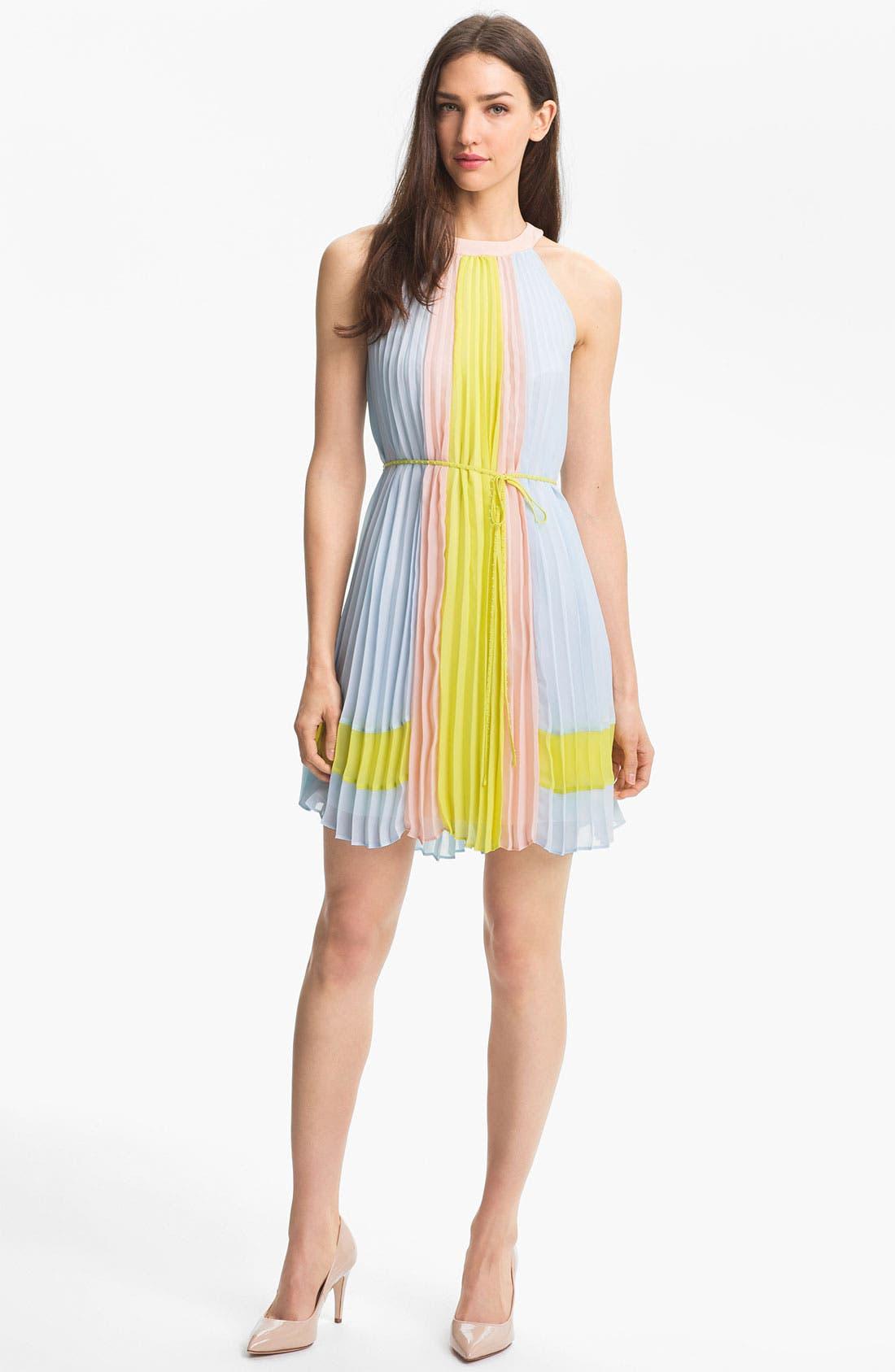 Alternate Image 1 Selected - Ted Baker London Colorblock Dress