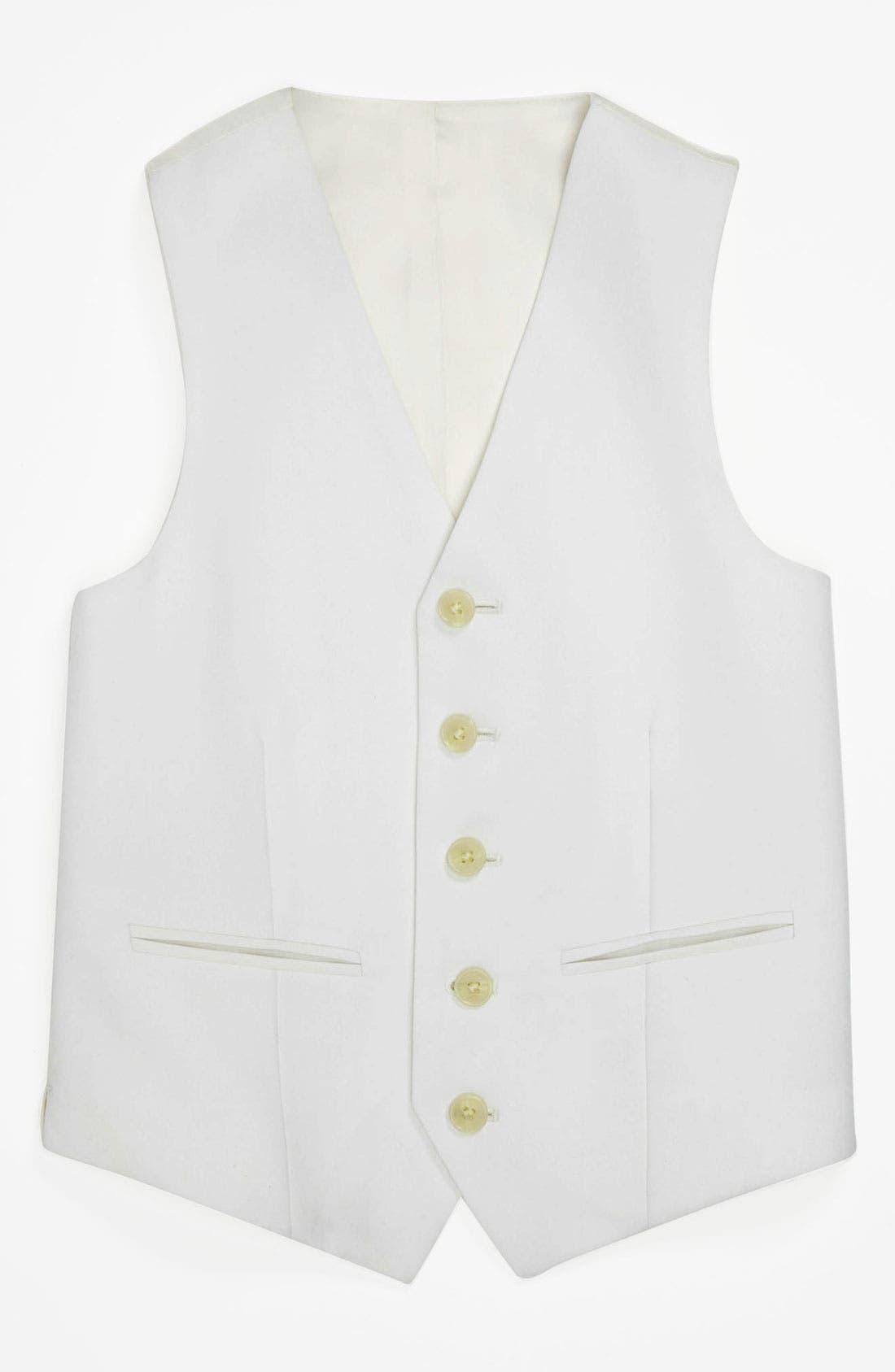 Alternate Image 1 Selected - Joseph Abboud Vest (Little Boys & Big Boys)