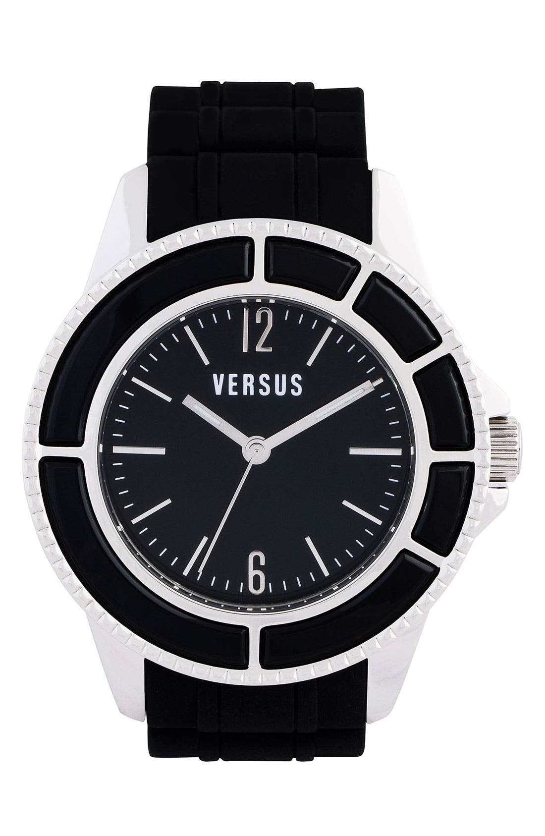 Alternate Image 1 Selected - Versus by Versace 'Tokyo' Rubber Strap Watch
