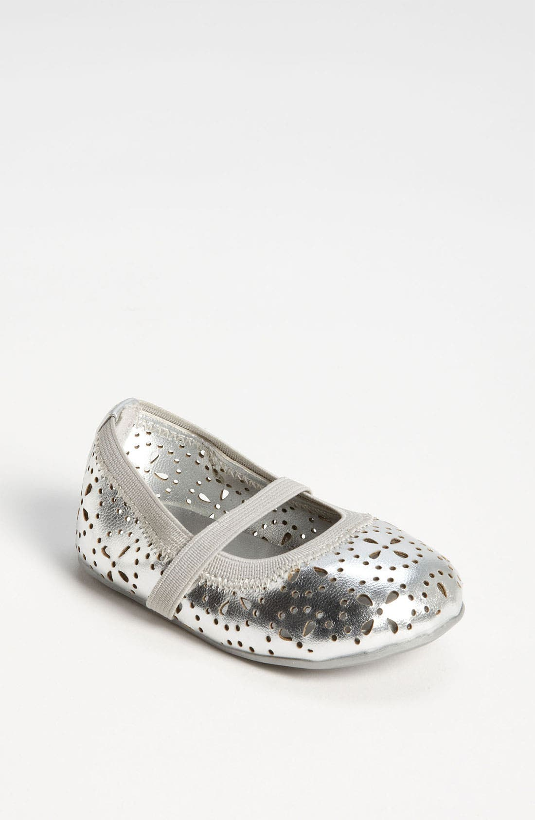 Alternate Image 1 Selected - Stuart Weitzman 'Baby Greige' Flat (Baby)