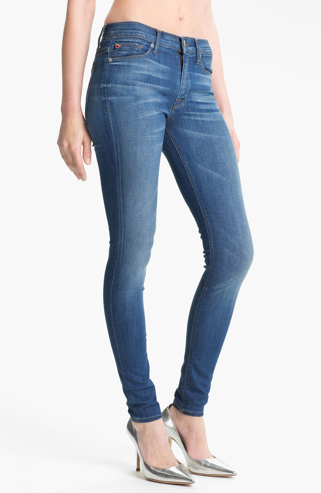 Main Image - Hudson Jeans 'Nico' Skinny Stretch Jeans (Morrissey)