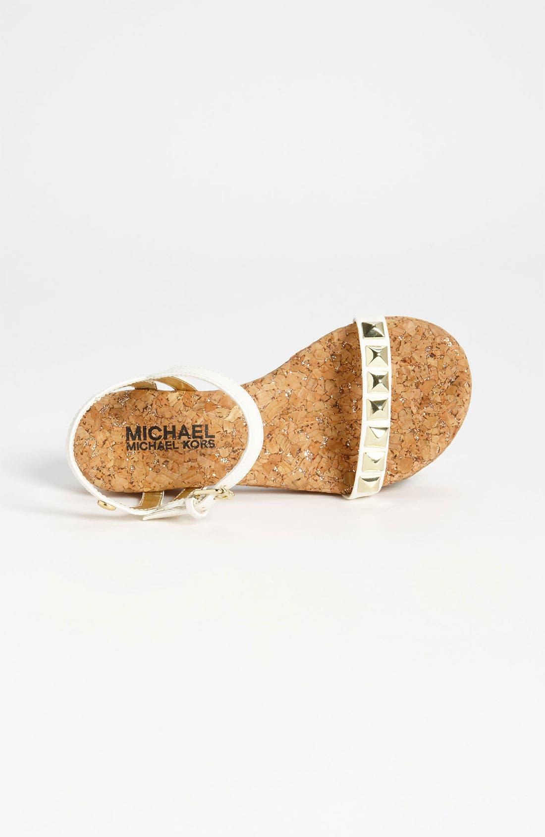 Alternate Image 3  - MICHAEL Michael Kors 'Nadina' Sandal (Little Kid & Big Kid)