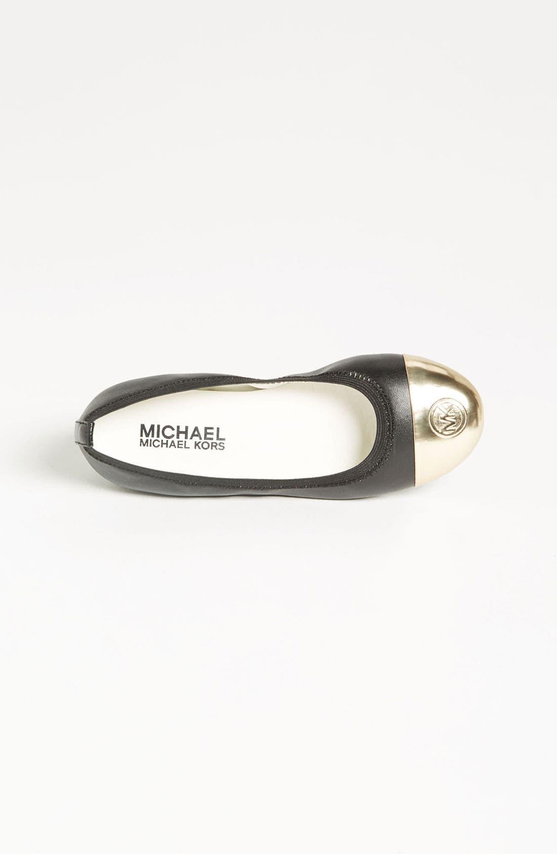 Alternate Image 3  - MICHAEL Michael Kors 'Rover' Ballet Flat (Little Kid & Big Kid)