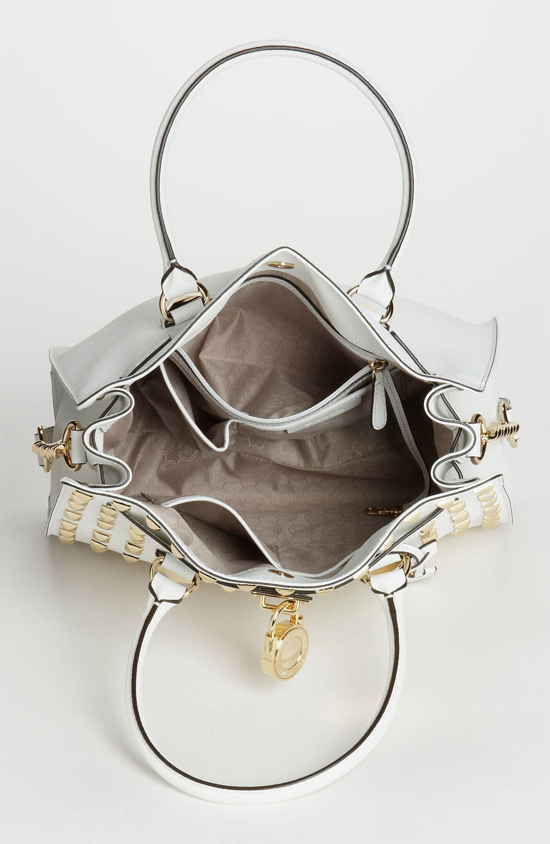 Alternate Image 3  - MICHAEL Michael Kors 'Hamilton - Large' Studded Leather Tote