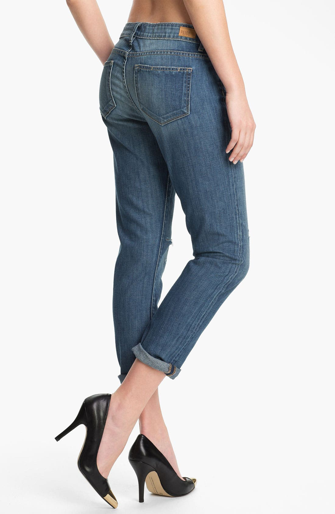 Alternate Image 2  - Paige Denim 'Lydia' Distressed Skinny Jeans (Riley)