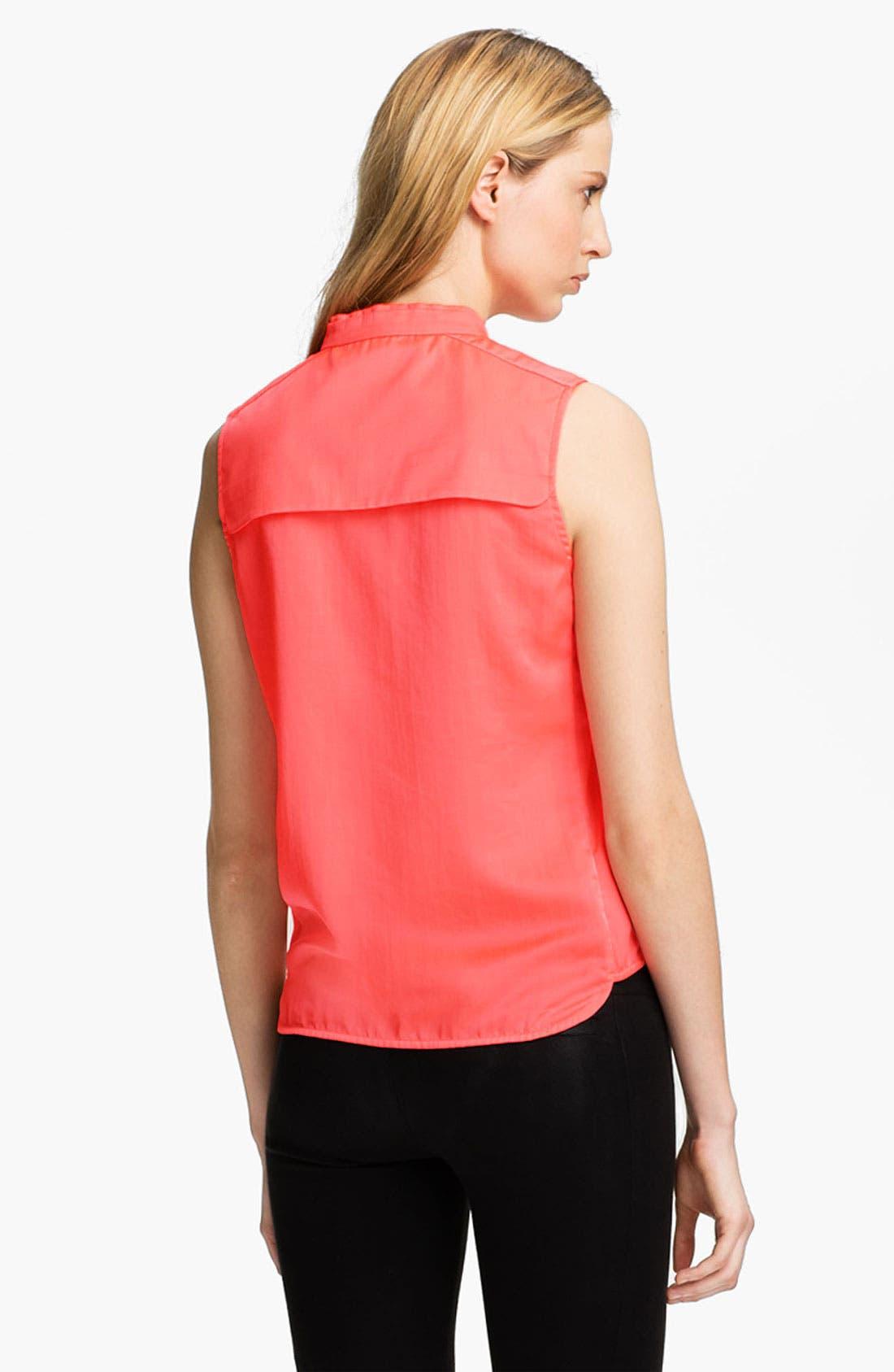 Alternate Image 3  - J Brand Ready-to-Wear 'Katina' Mandarin Collar Top