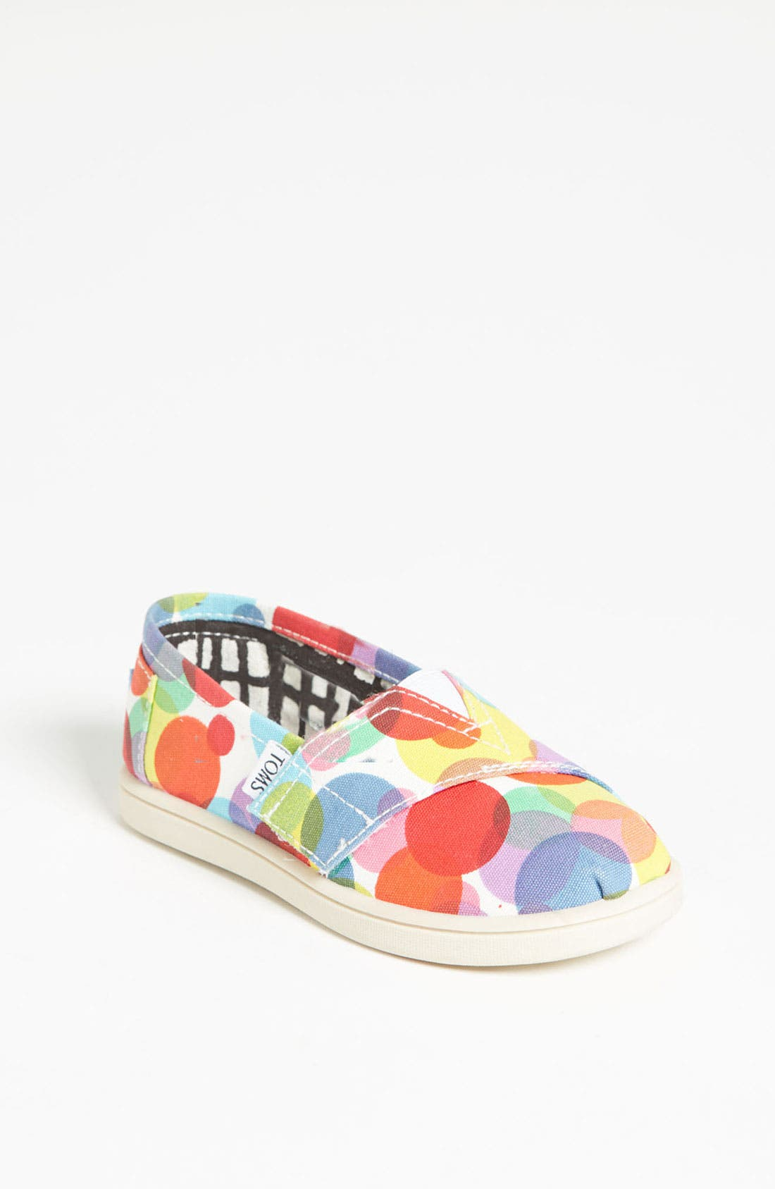 Alternate Image 1 Selected - TOMS 'Classic Tiny - Clea' Slip-On (Baby, Walker & Toddler)
