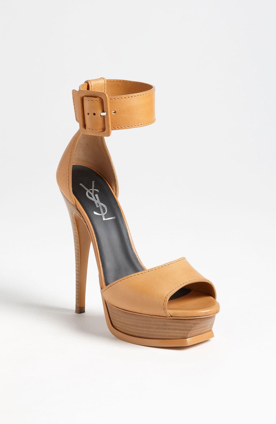 Alternate Image 1 Selected - Saint Laurent 'Tribute' Sandal