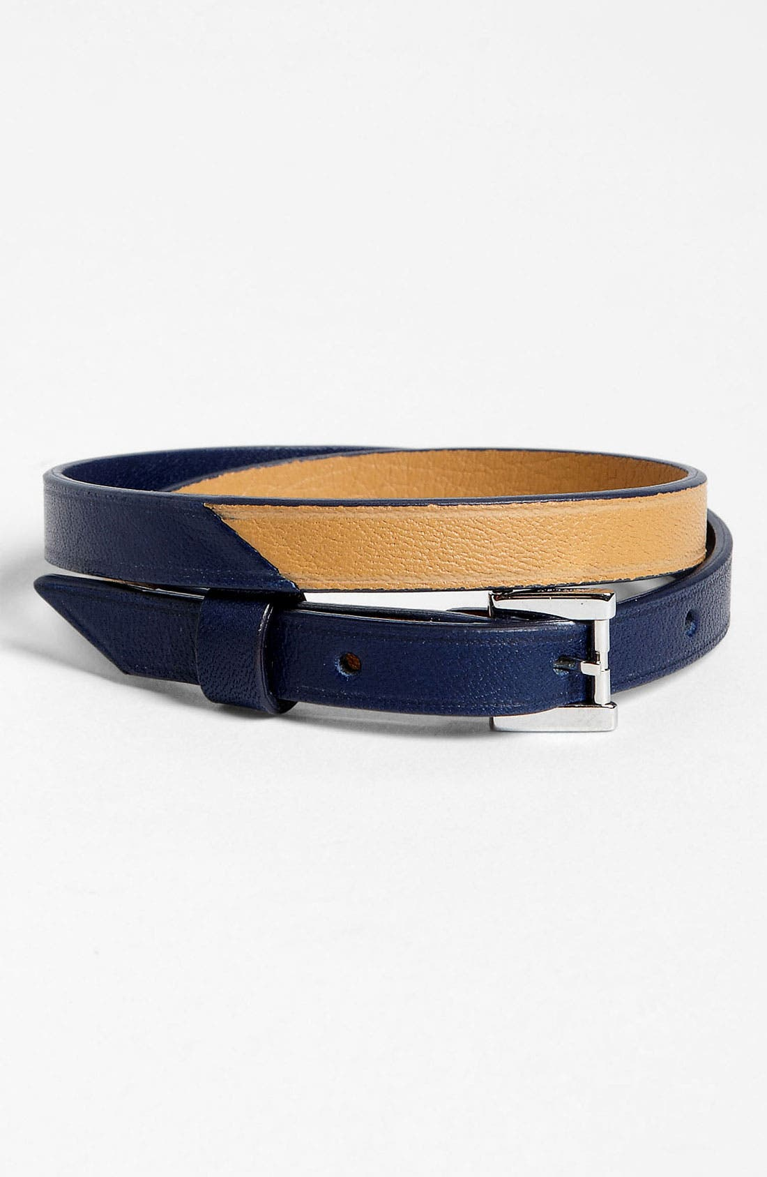 Alternate Image 1 Selected - WANT Les Essentiels de la Vie 'Vantaa' Leather Bracelet